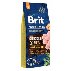 BRIT PREMIUM JUNIOR M (15 kg)