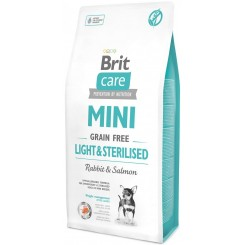 BRIT CARE MINI LIGHT&STERILISED (7kg)