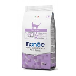 MONGE STERILIZED RICH IN CHICKEN (1.5 kg)