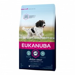 EUKANUBA ADULT ACTIVE MEDIUM (18 kg)