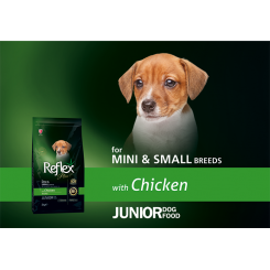 REFLEX+ MINI JUNIOR CHICKEN (3 kg)