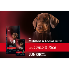 REFLEX+ JUNIOR LAMB&RICE (15 kg)