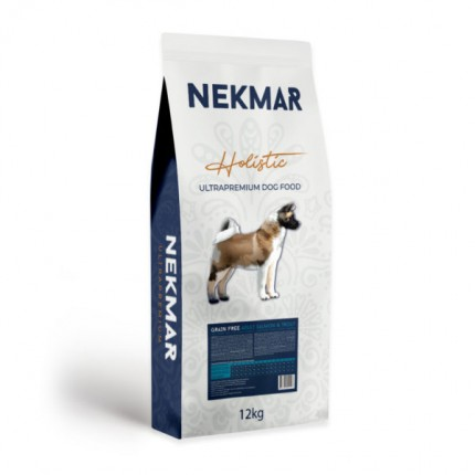 NEKMAR ADULT SALMON & TROUT_GRAIN FREE (12 kg)