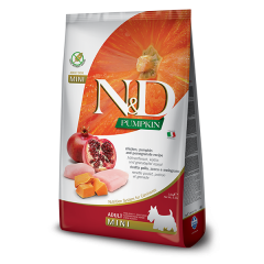 ND PUMPKIN CHICKEN & POMEGRANATE ADULT MINI (2.5 kg)