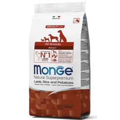 MONGE ADULT ALL BREEDS LAMB&RICE (2.5 kg)