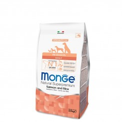 MONGE ALL BREEDS ADULT SALMON&RICE (2.5 kg)