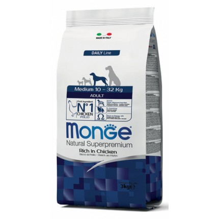 MONGE ADULT MEDIUM (3 kg)