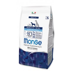 MONGE MEDIUM PUPPY&JUNIOR (3 kg)