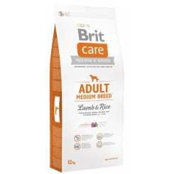 BRIT CARE ADULT MEDIUM BREED LAMB & Rice (ЈАГНЕШКО и ориз) (12 kg)