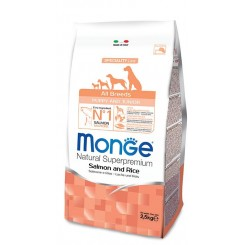 MONGE ALL BREED PUPPY SALMON & RICE (ЛОСОС и ориз) (2.5 kg)
