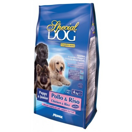 MONGE SPECIAL DOG PUPPY & JUNIOR PREMIUM (4/15 kg)